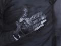 Hand des Baumwollpflückers